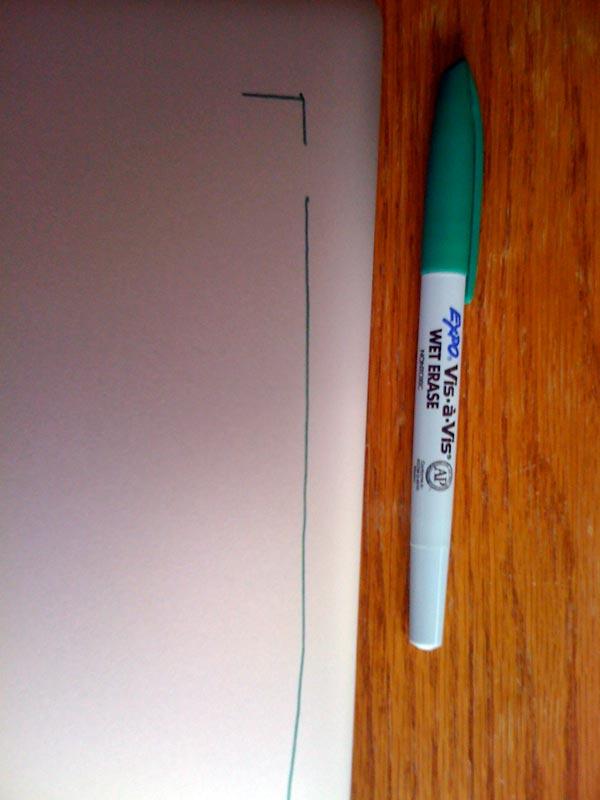 Wet Erase Marker