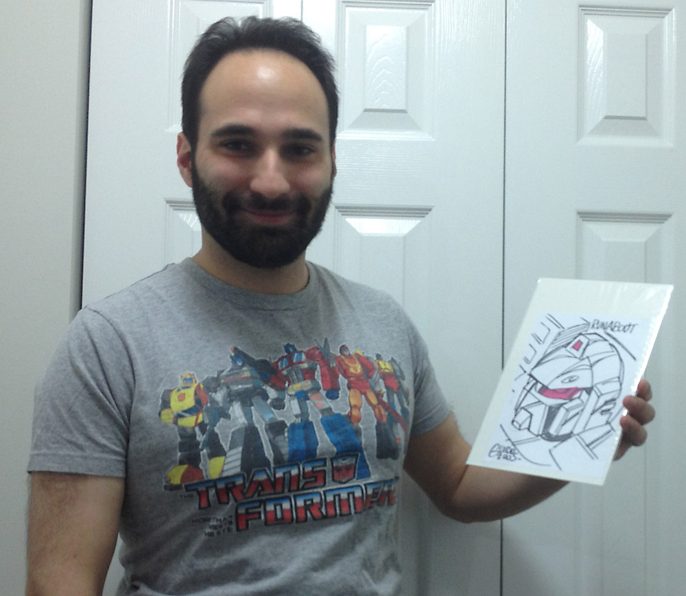 Pictures From IDW's Transformers Contest