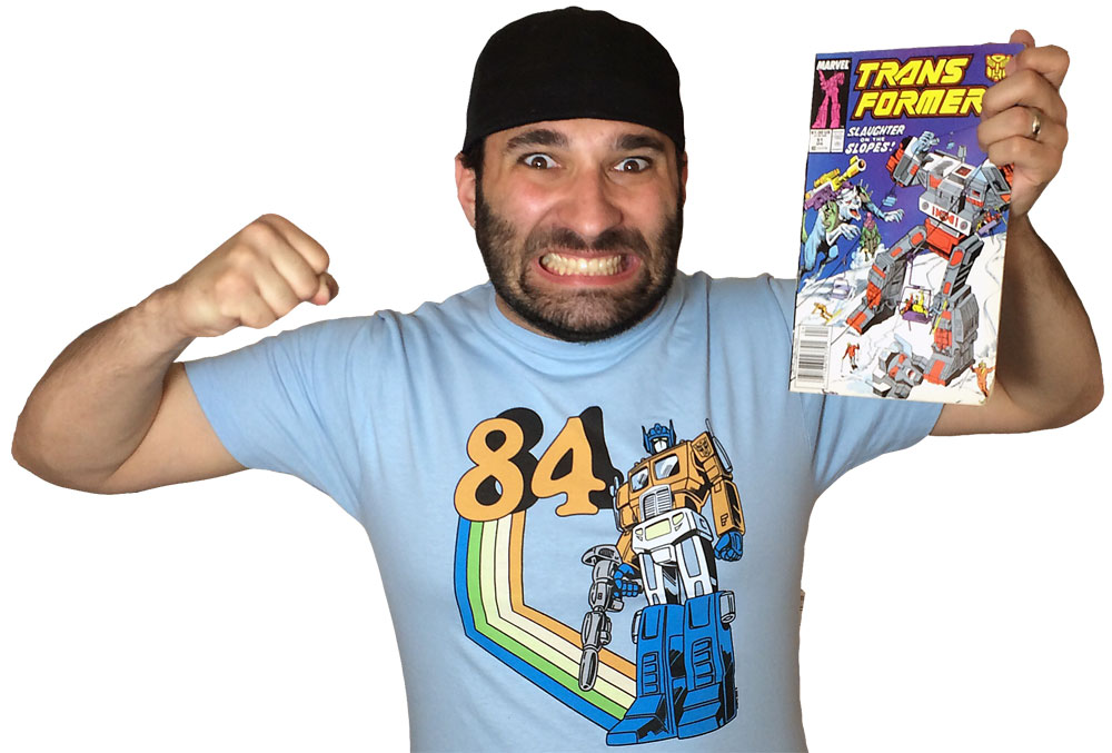 Transformers Review Issue 51: The Man In The Machine!