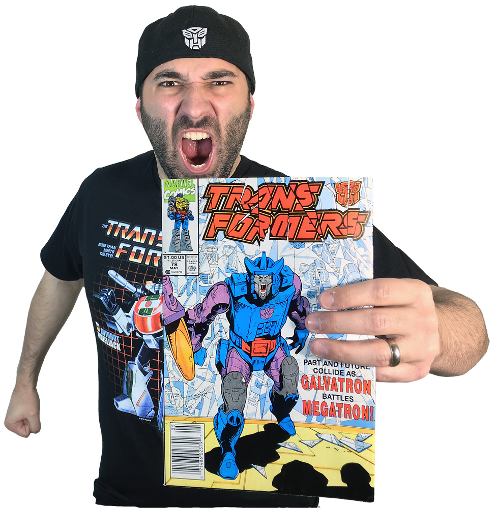 Transformers Review Issue 78: A Savage Circle