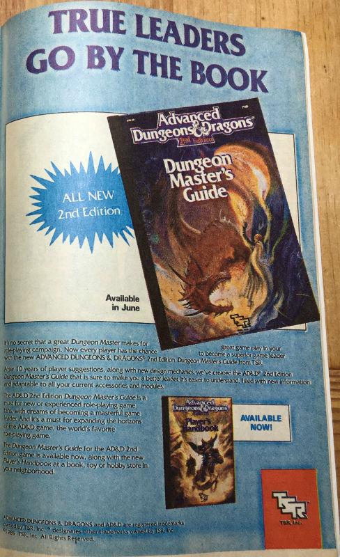 Transformers Ad TSR DMG 2nd Ed
