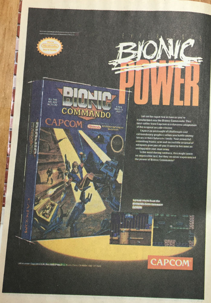 Bionic Commando Capcom