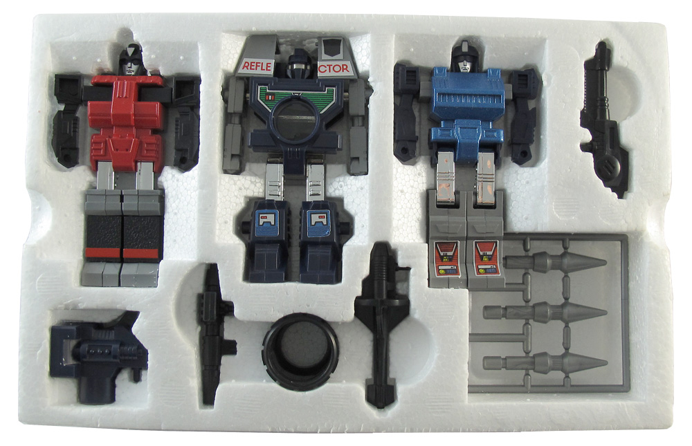 Original Generation 1 1986 Figures