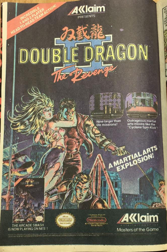 Transformers 67 Ad DoubleDragon Akklaim