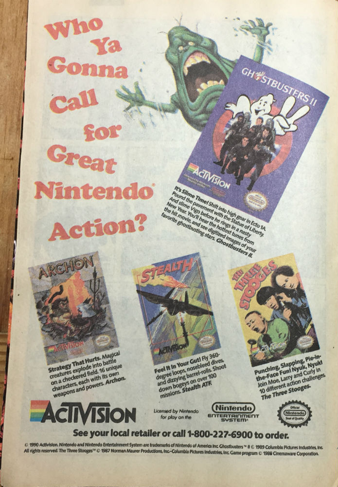 Transformers 67 Ad Ghostbusters Activision