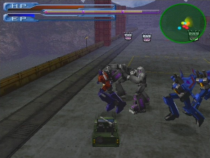 Transformers Tataki Gameplay Screenshot