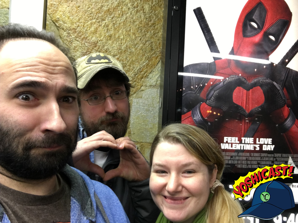 YOSHICAST #002: Deadpool Review! #FreeTheNipple