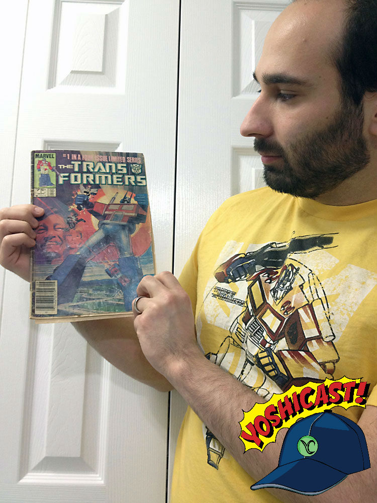 YOSHICAST #003: Transformers Classic Comic Reviews