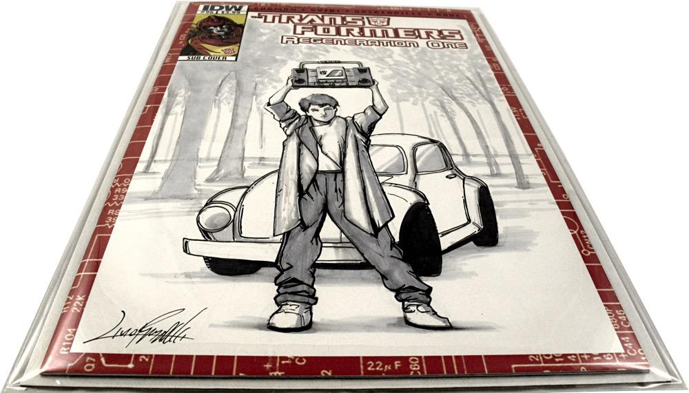 Livio Ramondelli Sketch Cover