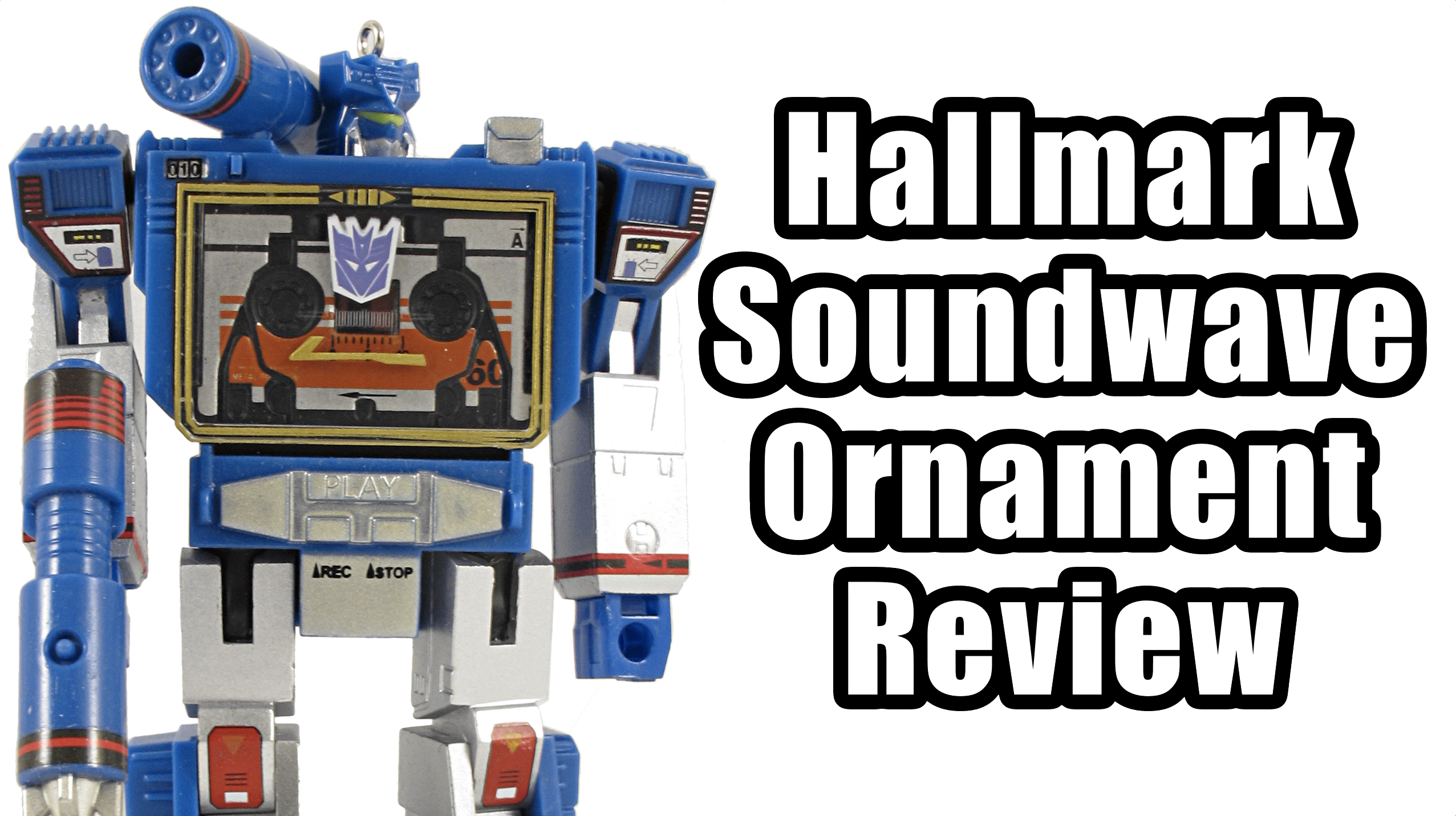 Transformers Soundwave Ornament Review