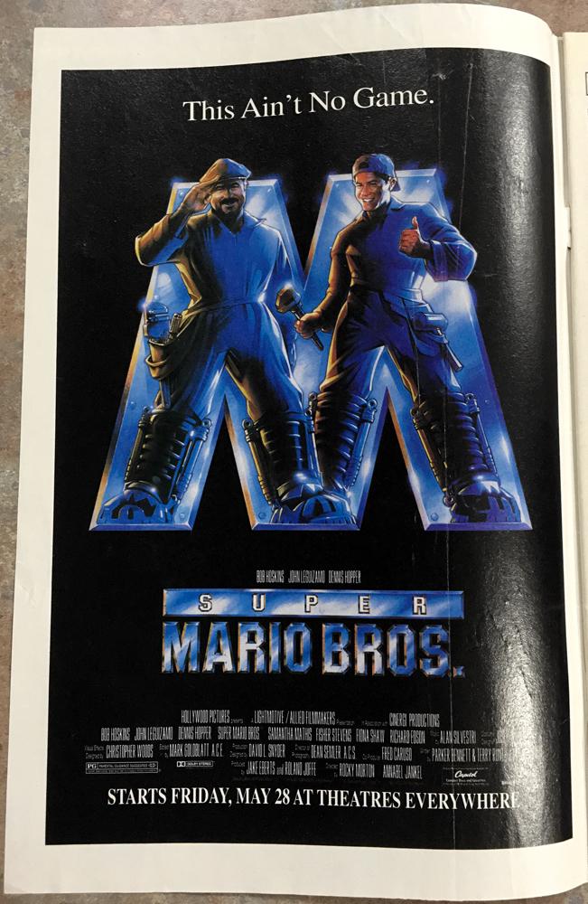 Super Mario Bros Ad