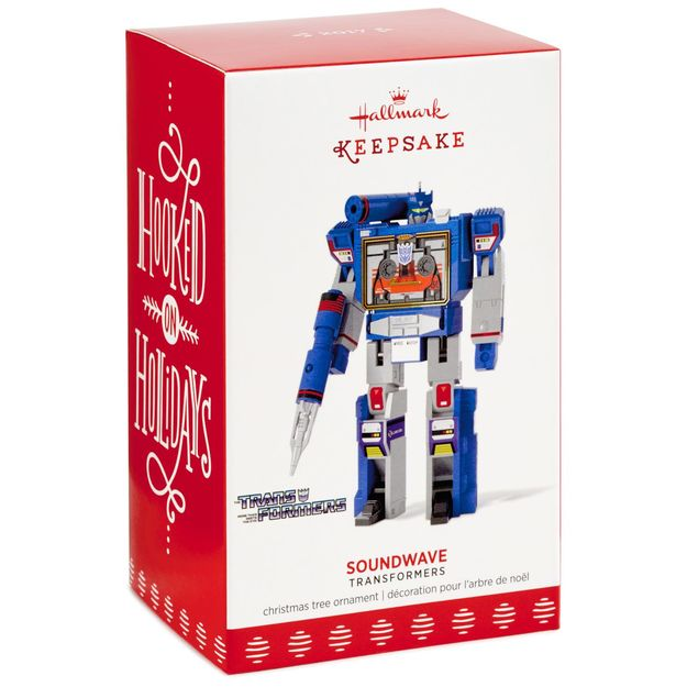 Transformers Soundwave Ornament Review | YOSHICAST