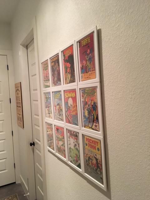 Farmhouse framed comics yoshicast for Ikea comic book