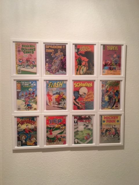 Farmhouse Framed Comics