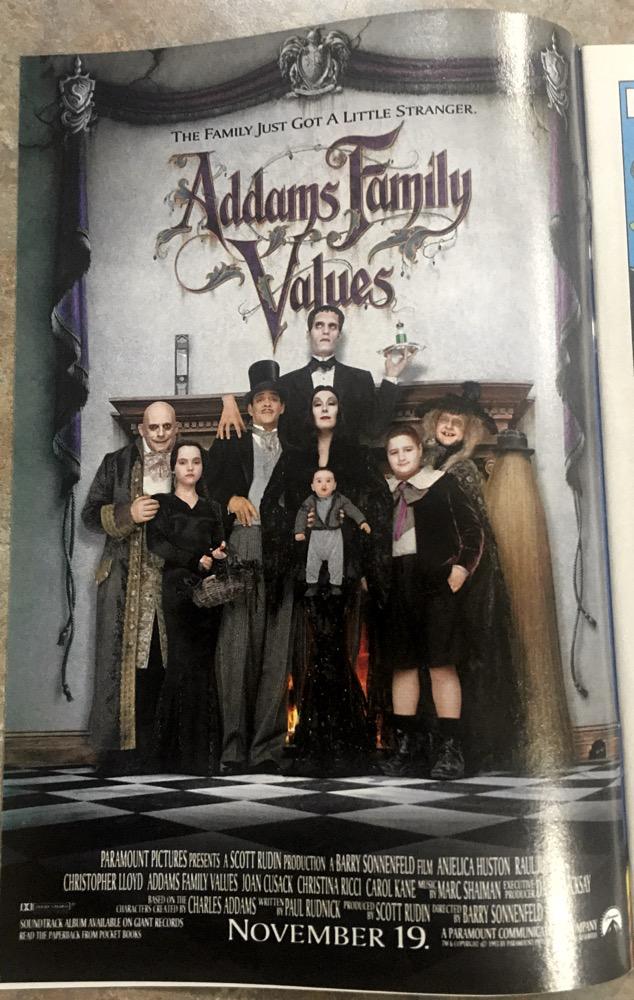 Adams Family Values