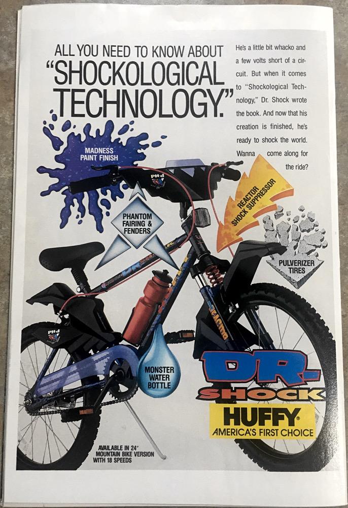 Huffy Bike Shock
