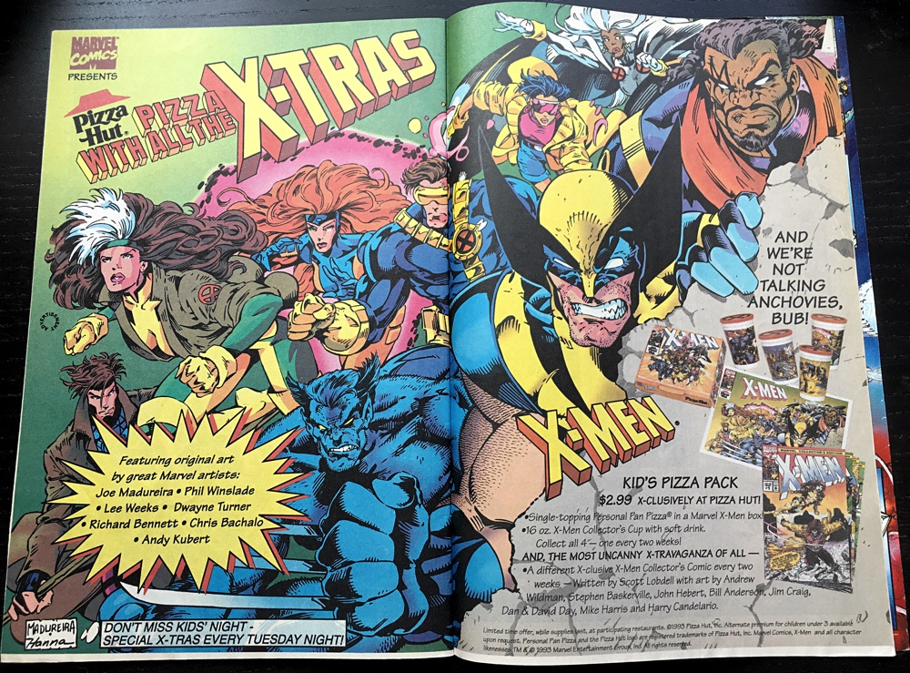 X Men PizzaHut Ad