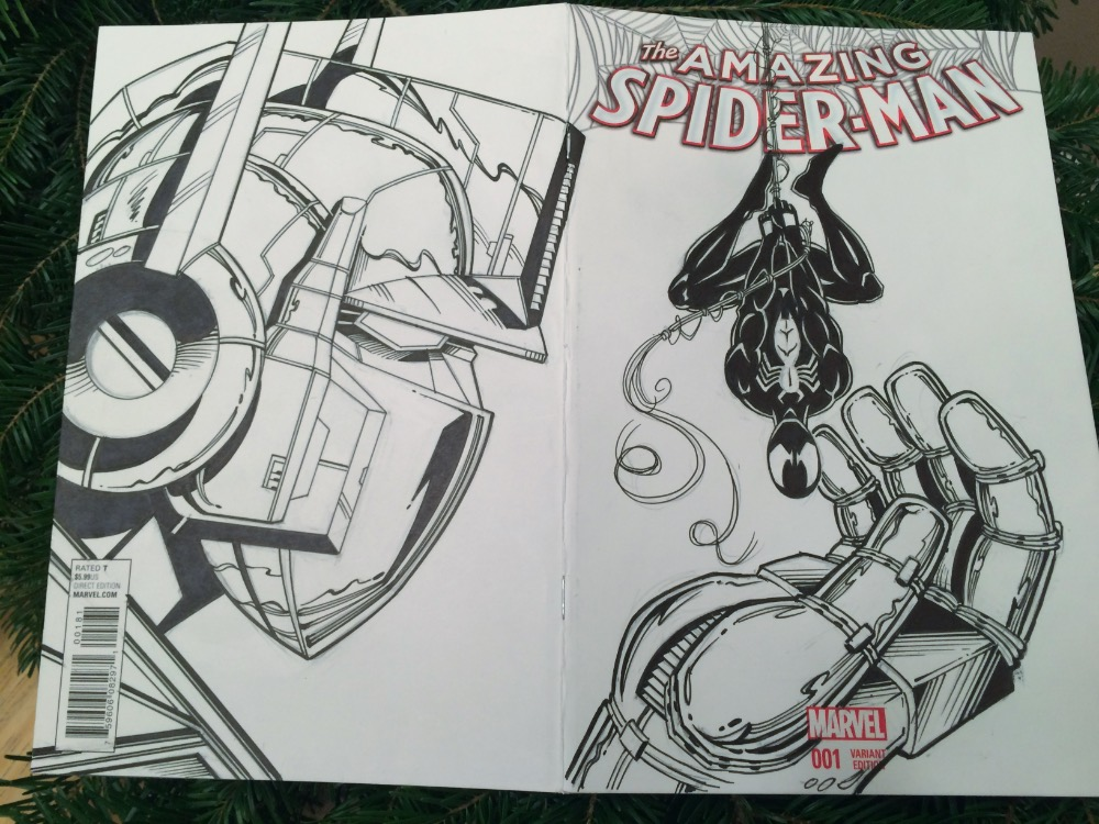 Completed Sketch Cover