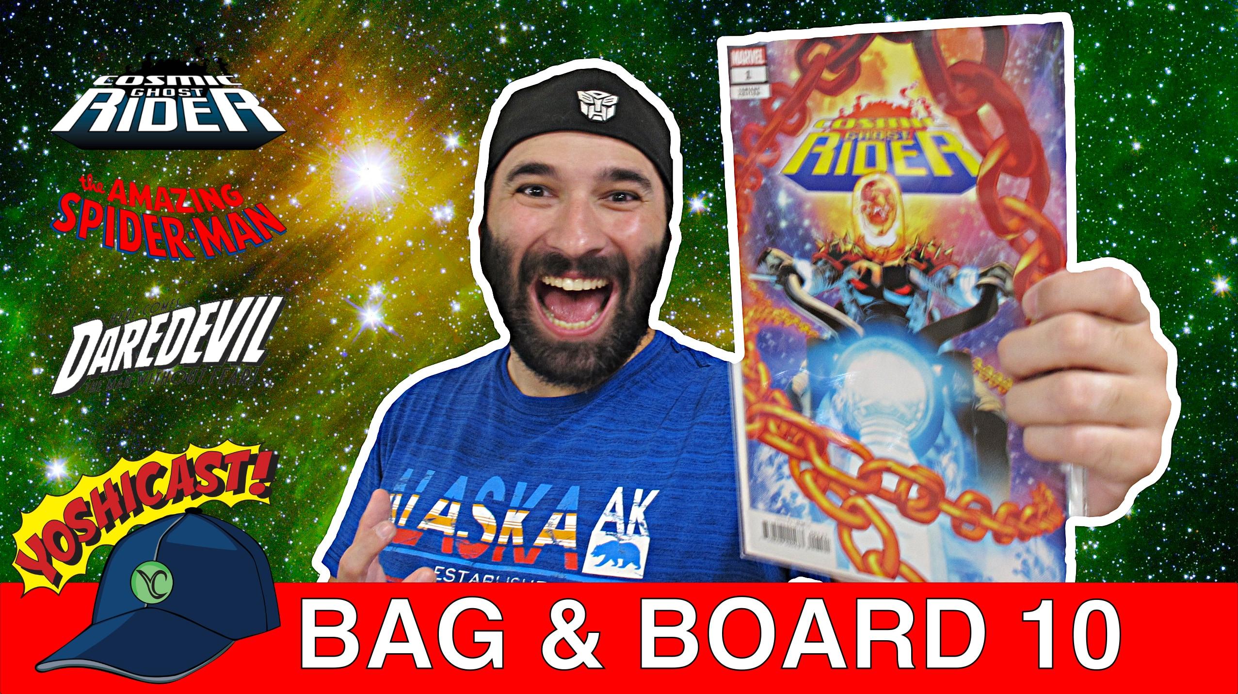Bag & Board 10 | Comic Haul Of COSMIC GHOST RIDER, SPIDER-MAN, Daredevil