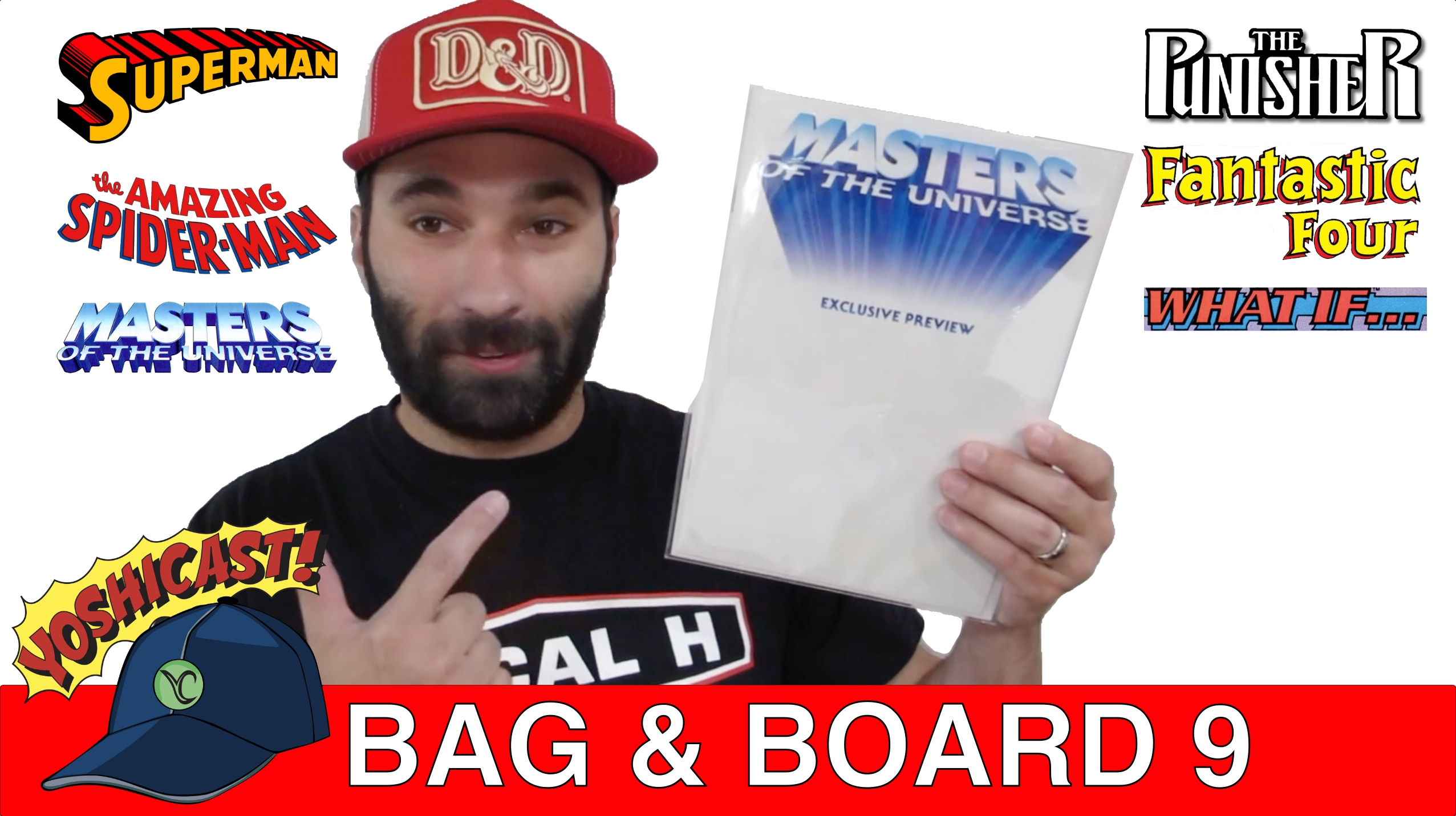 Bag & Board 9 | Master Of The Universe, PUNISHER, Superman, WHAT If, Fantastic Four