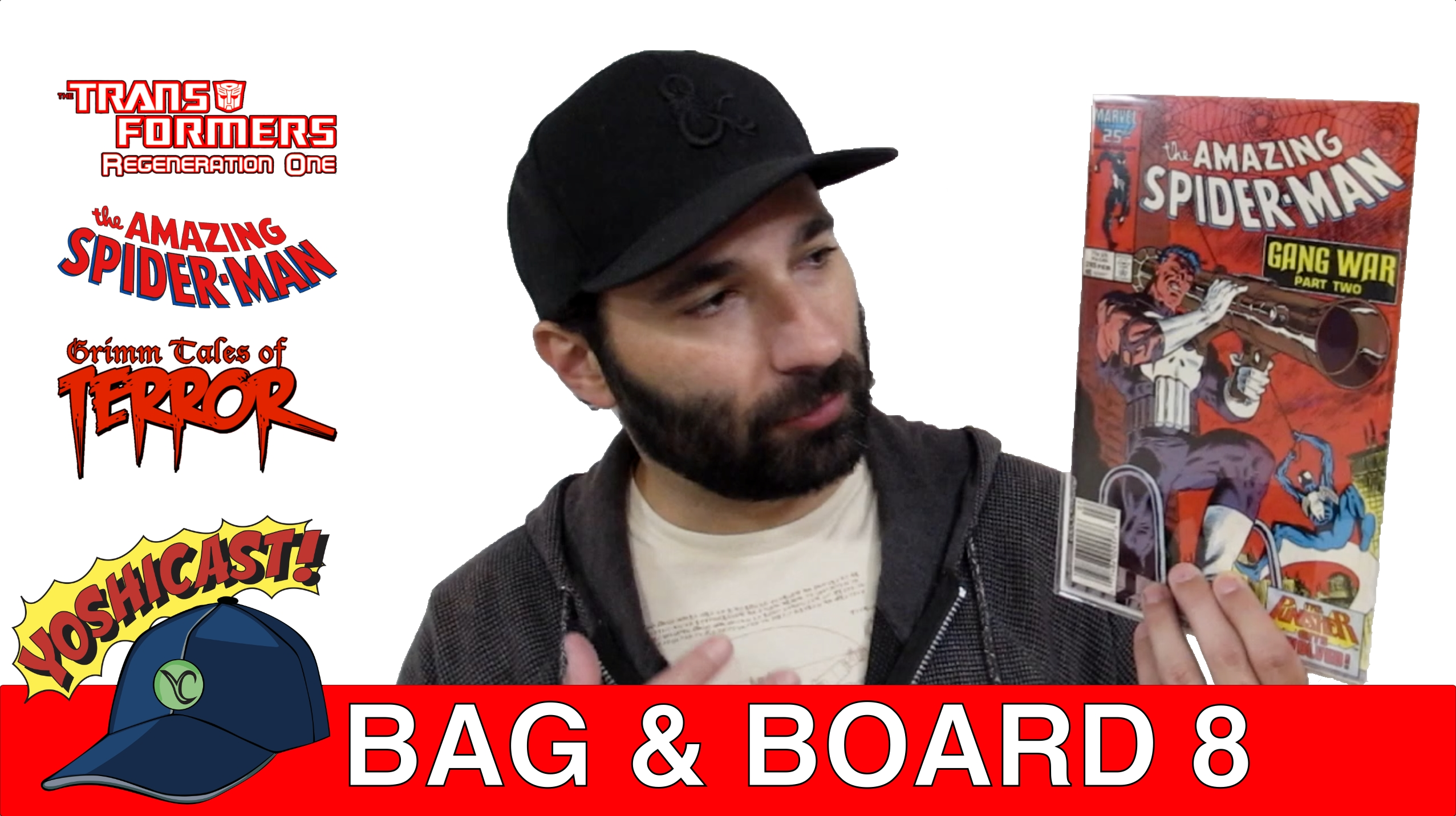 Bag & Board 8 | Transformers, The Amazing Spider-Man, Grimm Tales Of Terror