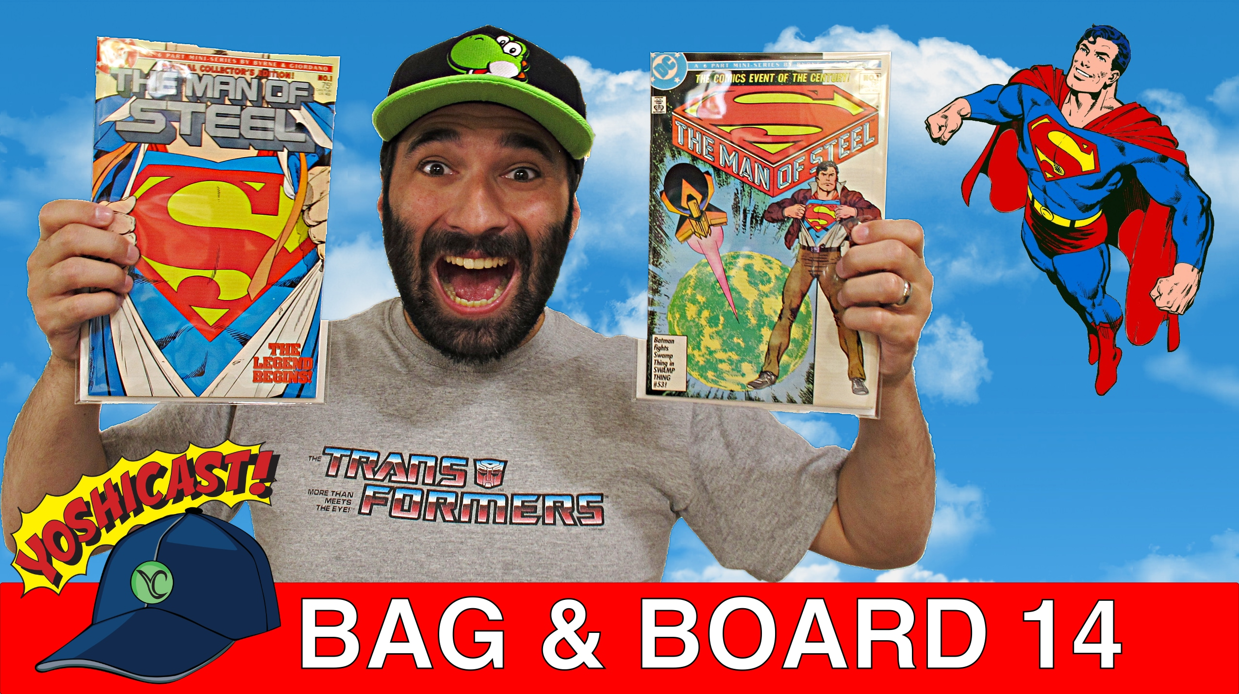 Bag & Board 14 | Man Of Steel , Sandman, SuperGirl, Revenge Of Wonderland