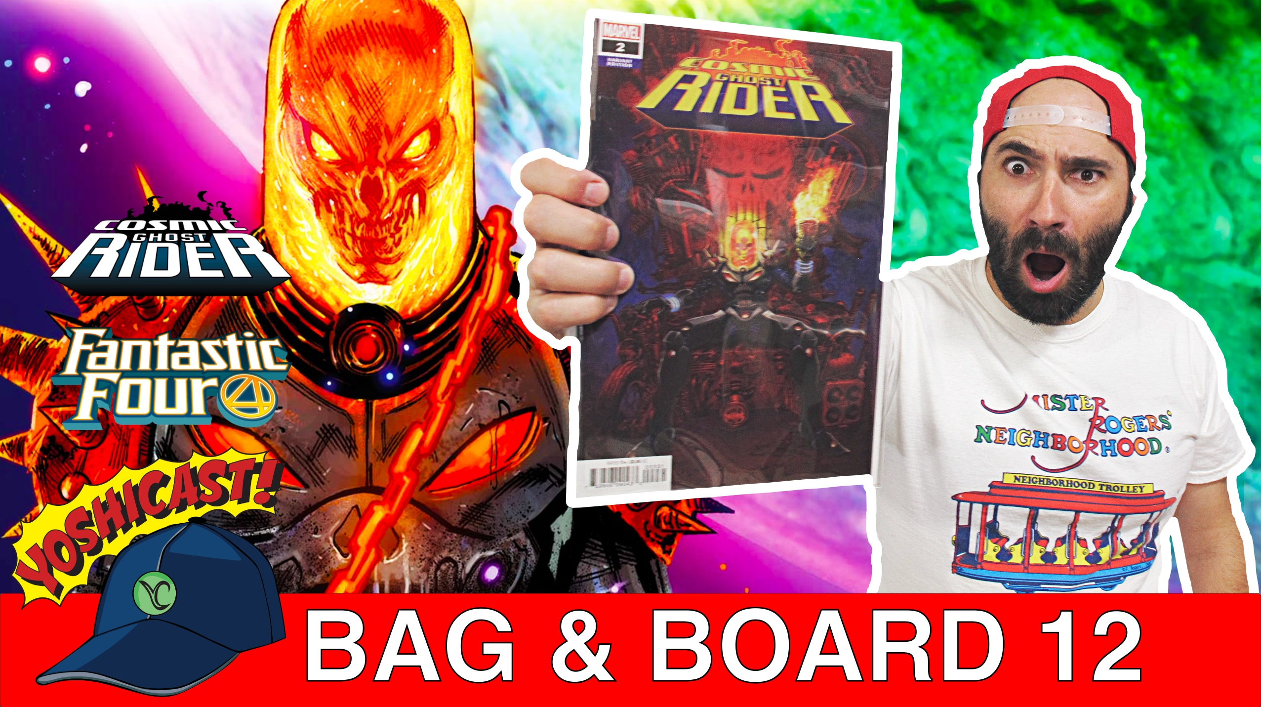 Bag & Board 12 | Comic Book Haul Cosmic Ghost RIDER, Punisher, Wolverine, Fantastic Four