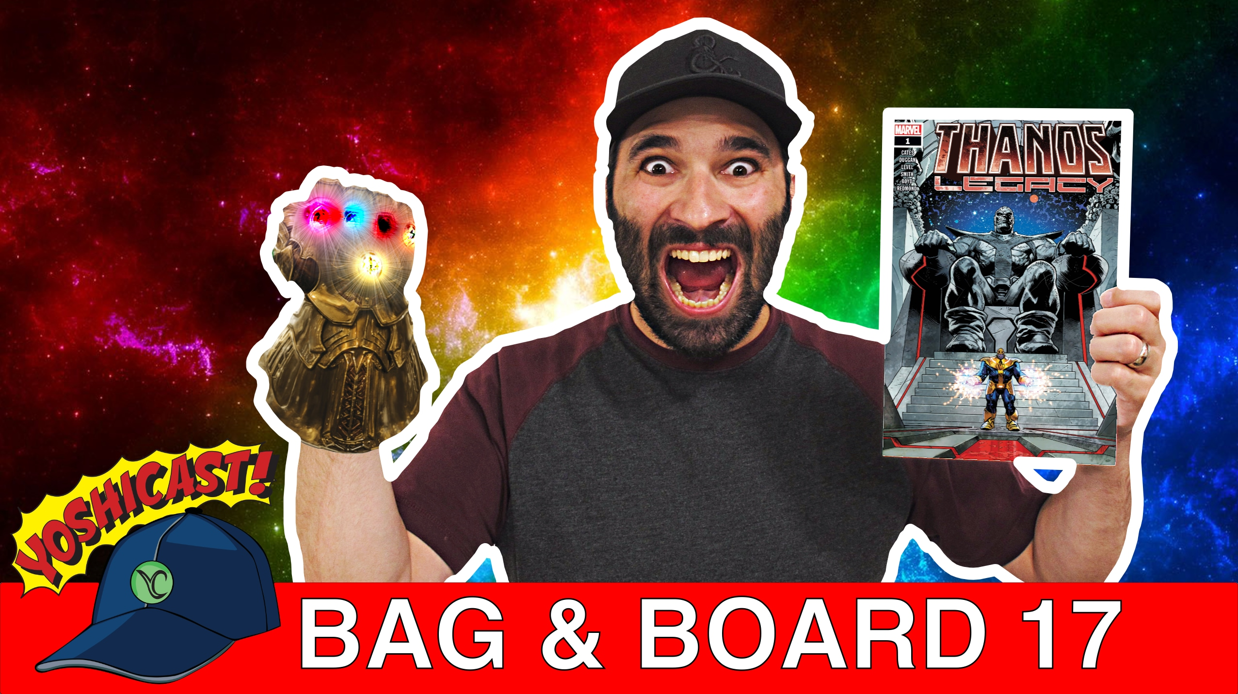 Bag & Board 17 | Thanos Legacy, Cosmic Ghost Rider, Rick And Morty Vs. Dungeon & Dragons