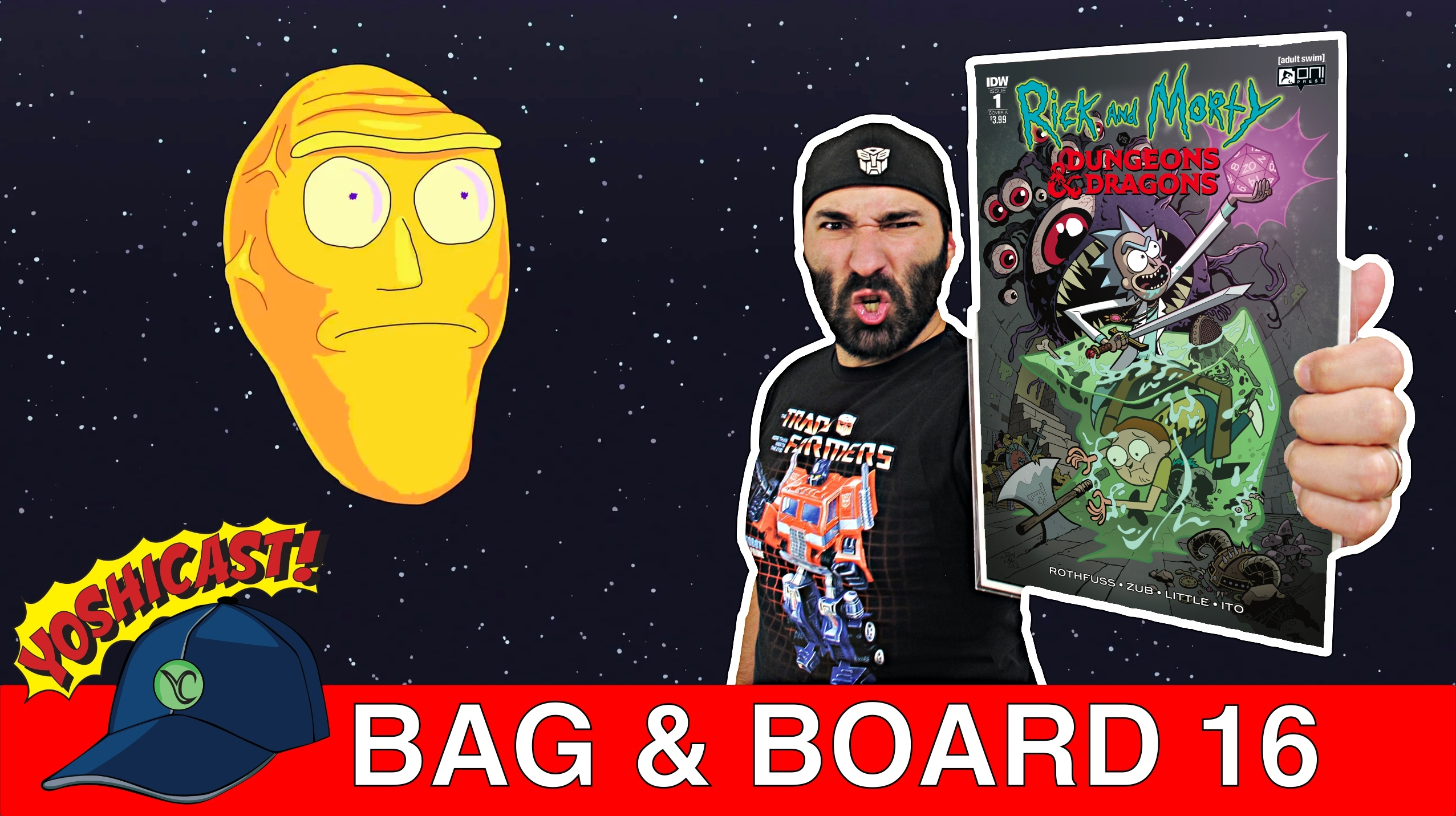 Bag & Board 16 | Rick And Morty VS Dungeons & Dragons, Bone Parish, Catwoman, Joker, Fantastic Four