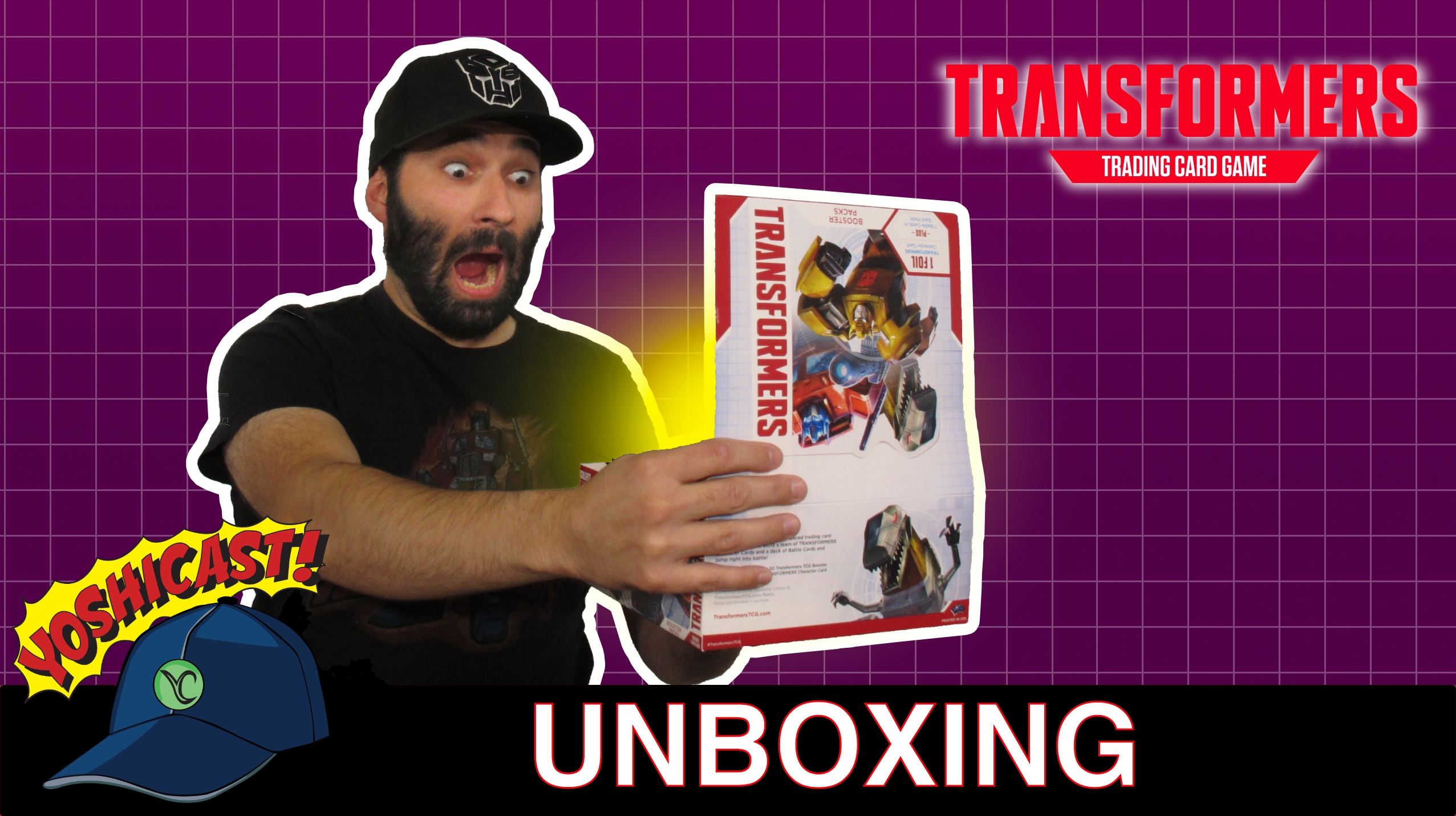 Transformers TCG 30 Booster Unboxing