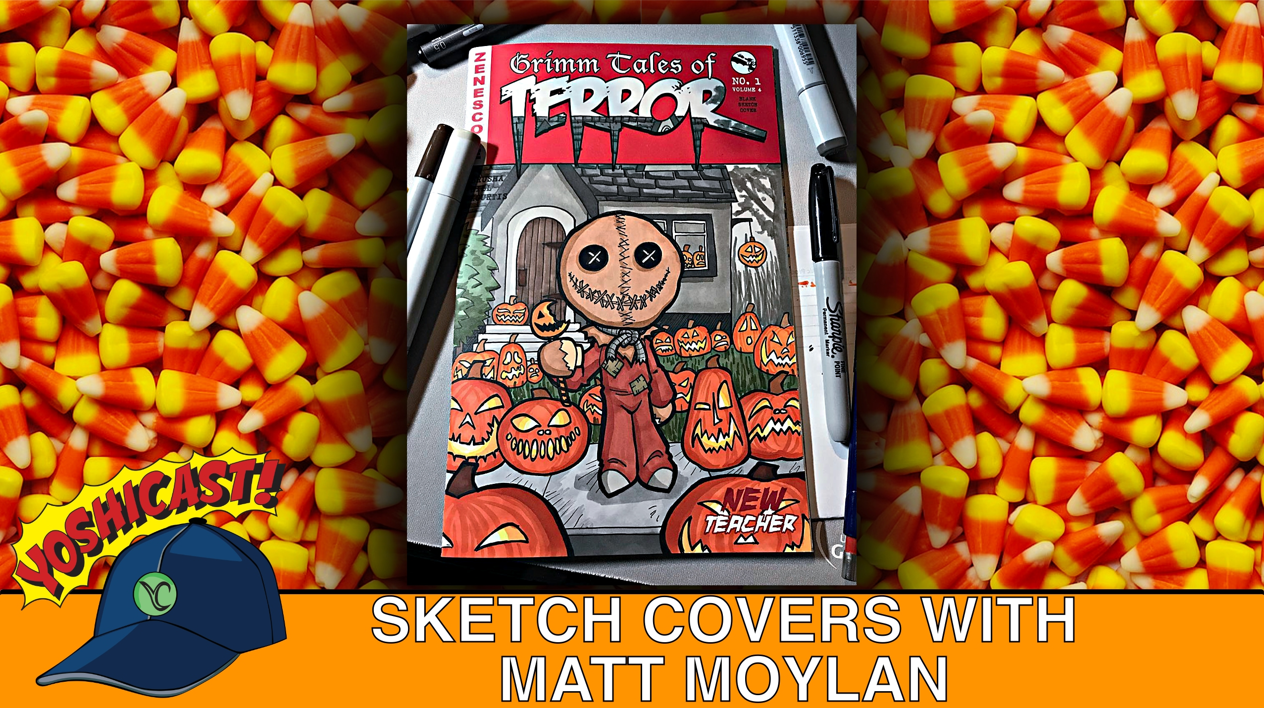 Sketch Covers With Matt Moylan