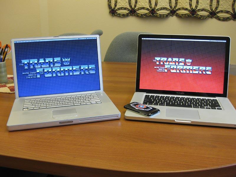 Transformers Desktops