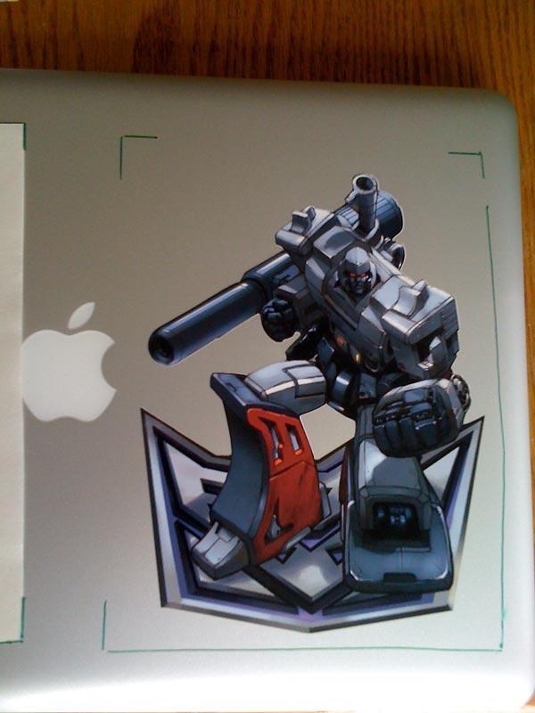Magatron Macbook Pro