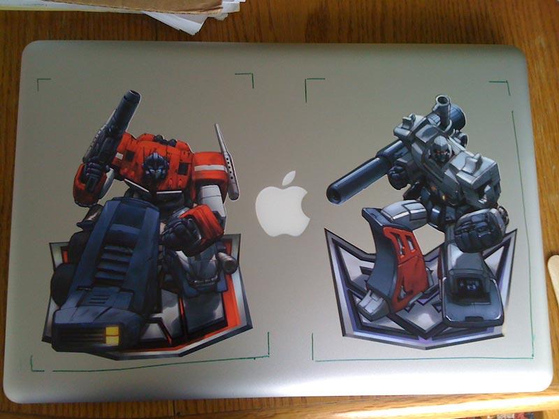 Macbook Pro Transformers