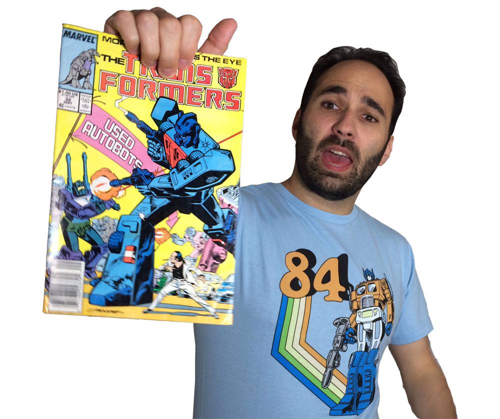 Transformers Review Issue 32: Used Autobots