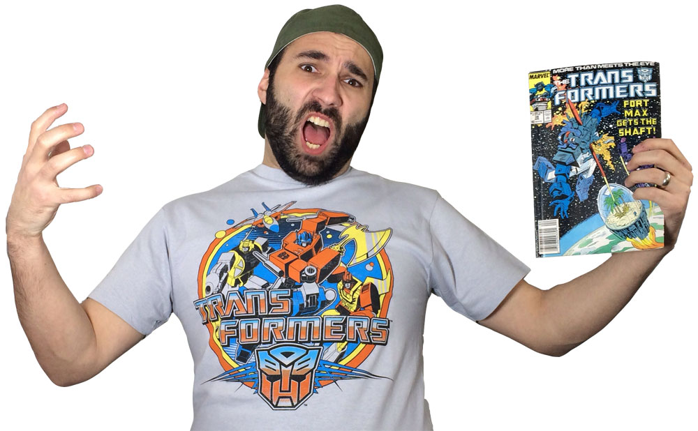 Transformers Review Issue 39: The Desert Island Of Space!