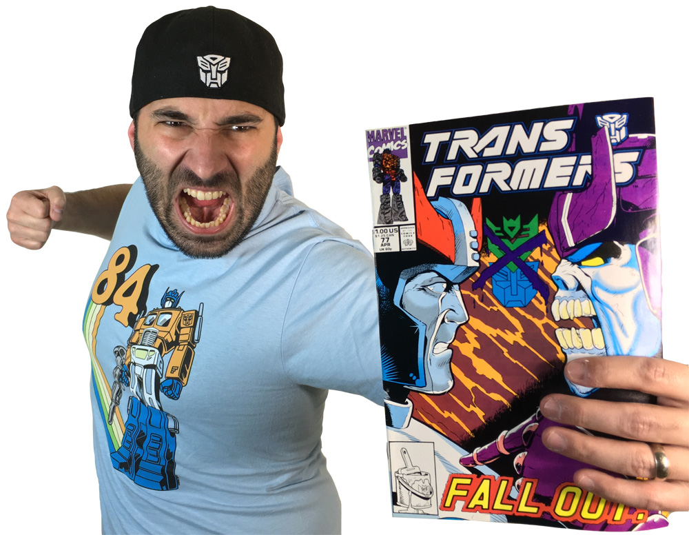 Transformers Review Issue 77: Exodus!