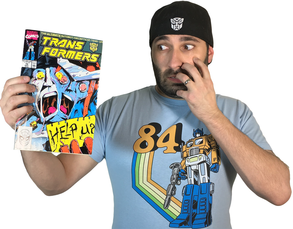 Transformers Review Issue 70: The Pri¢e Of Life!