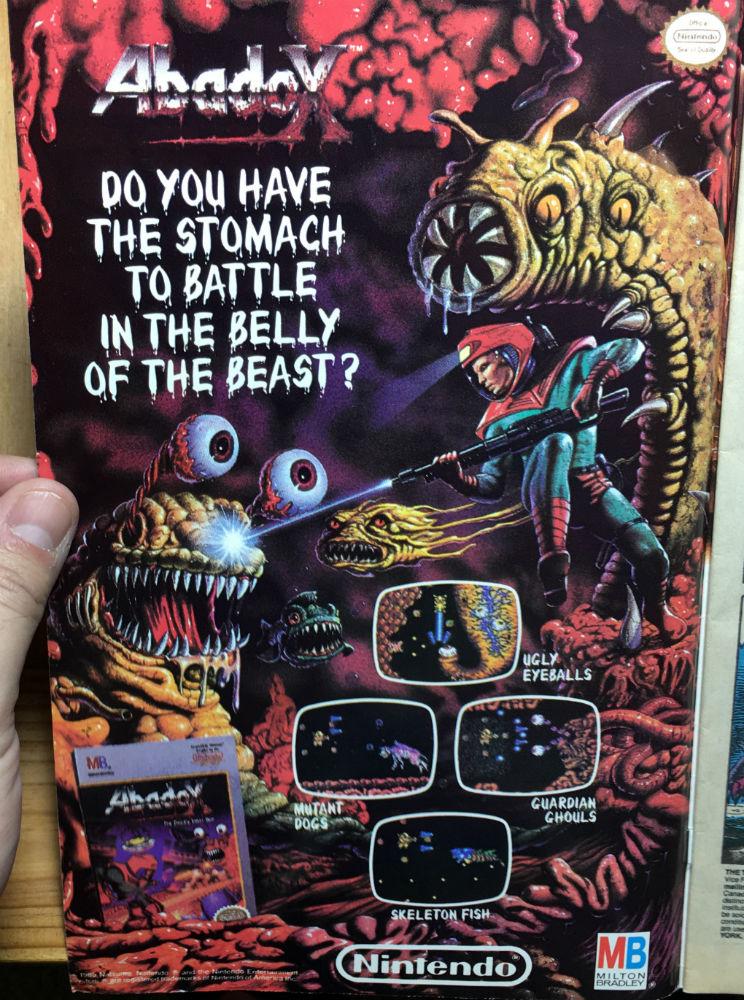 Transformers 67 Ad Nintendo