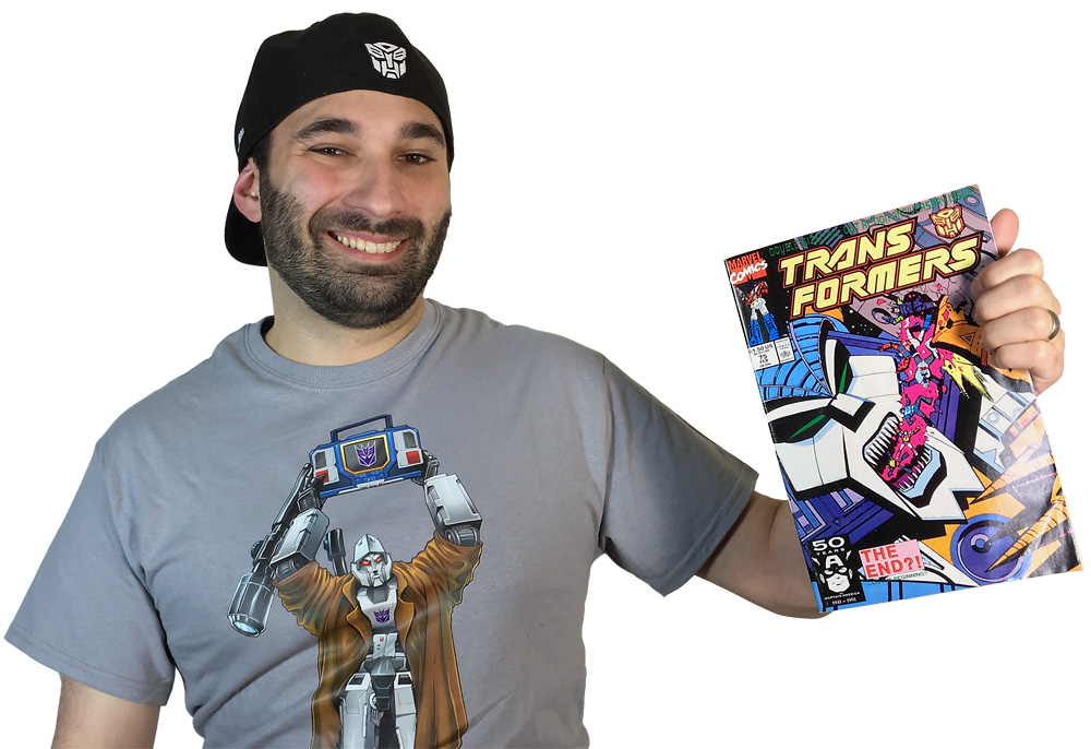 Transformers Review ISsue 75: On The Edge Of Extinction!