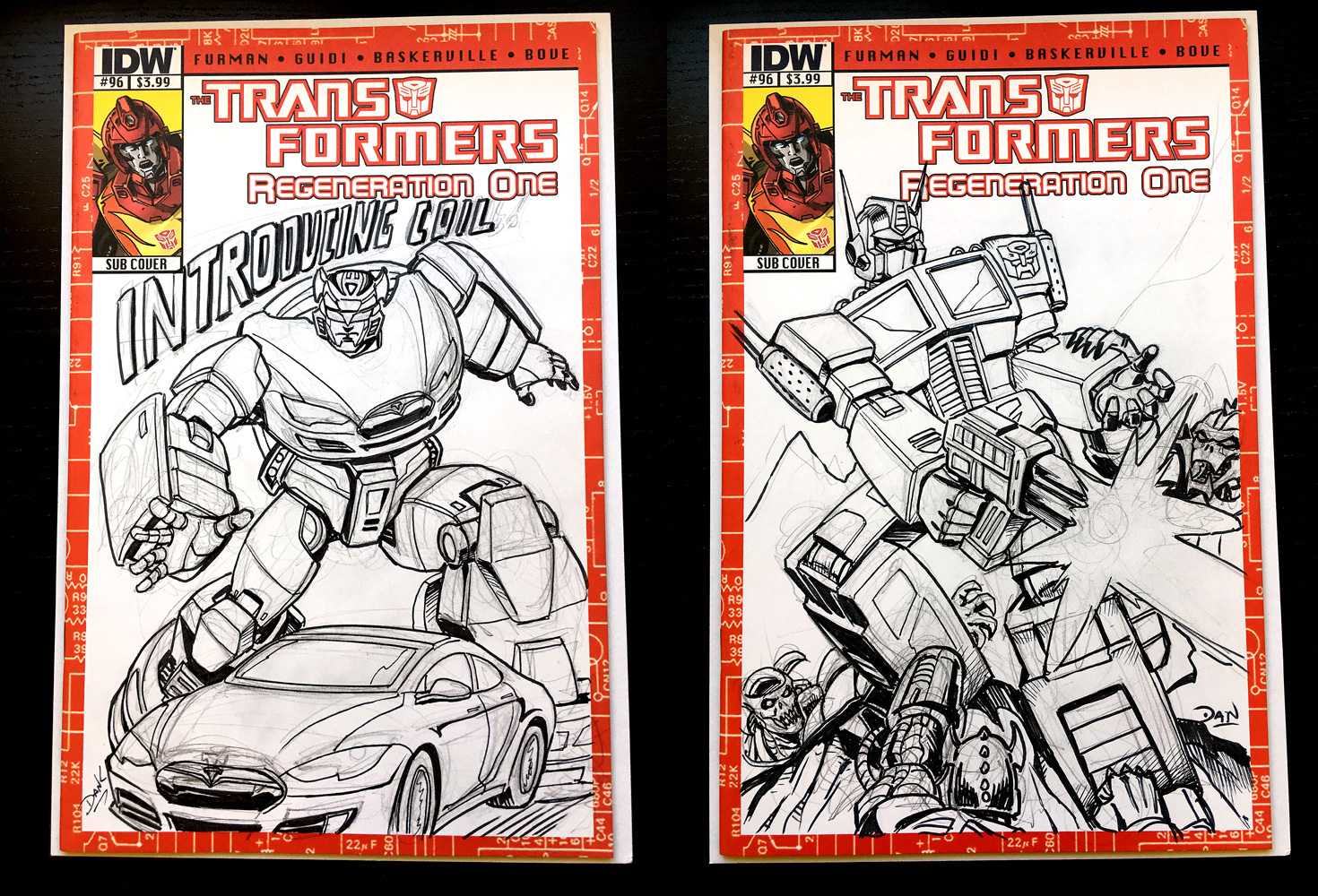 A Tale Of Two Sketch Covers