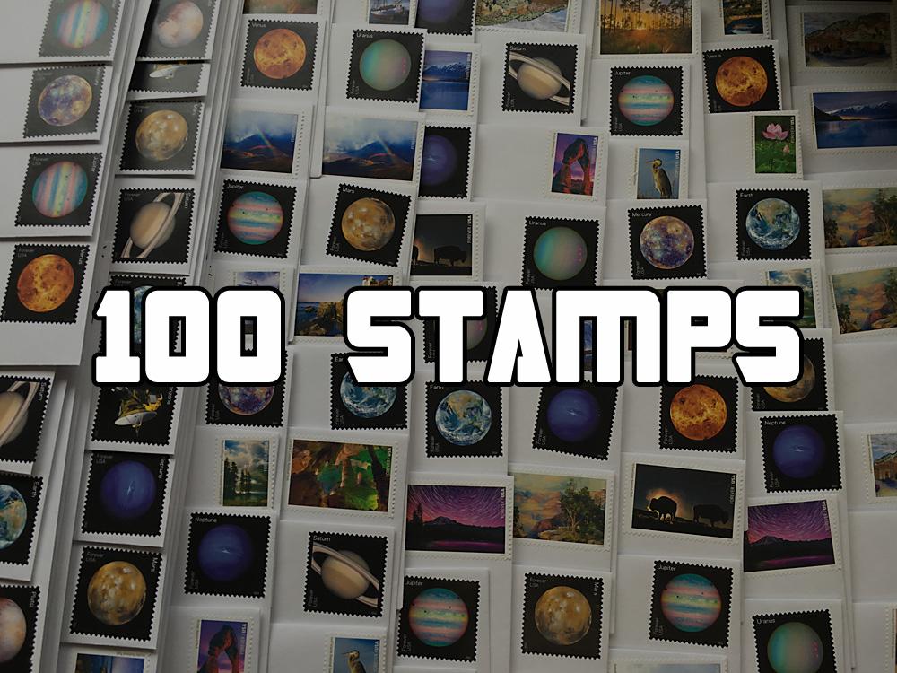 TransMissions Comic Penpals – 100 Stamps