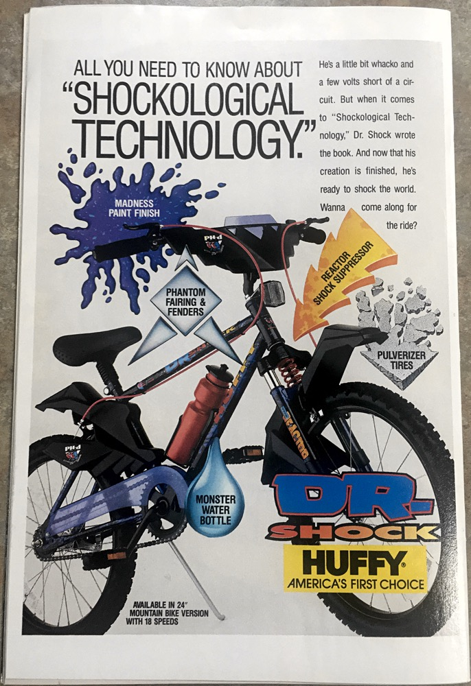 Huffy Bike Shock