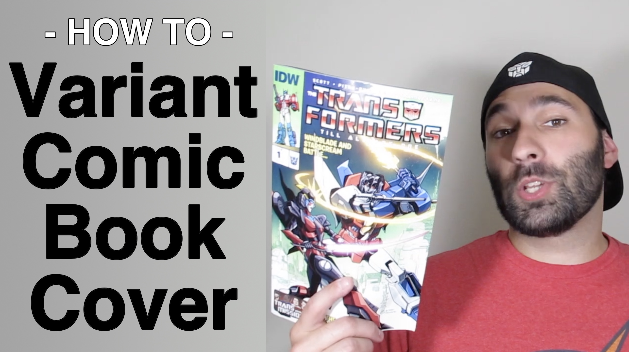 Create A Variant Comic Book Cover