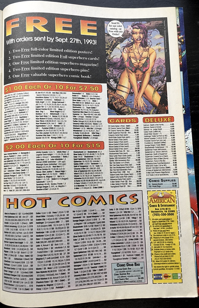 Hot Comics Ad