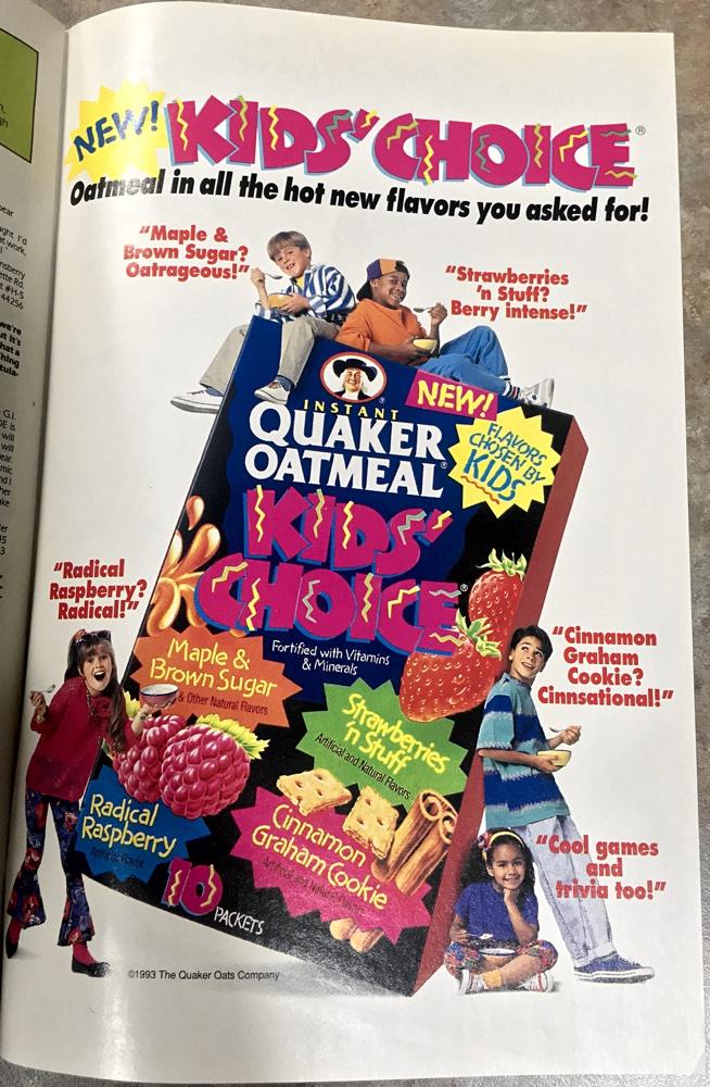 Quaker Oats Ad