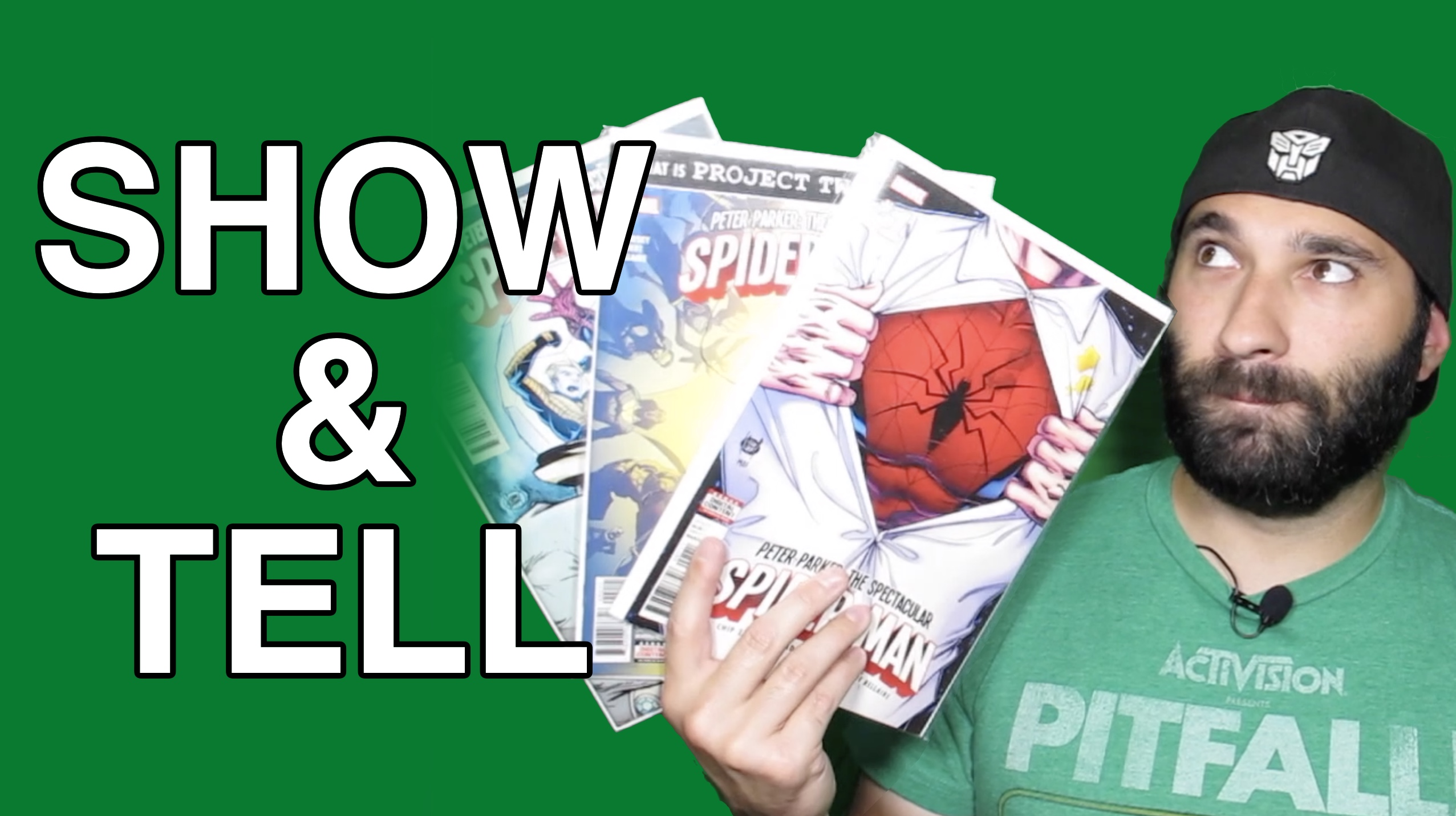 SHOW & TELL: Spider-Man, The Defenders, Blank Comic Books, Midtown Comics, TFCon, And More!!!