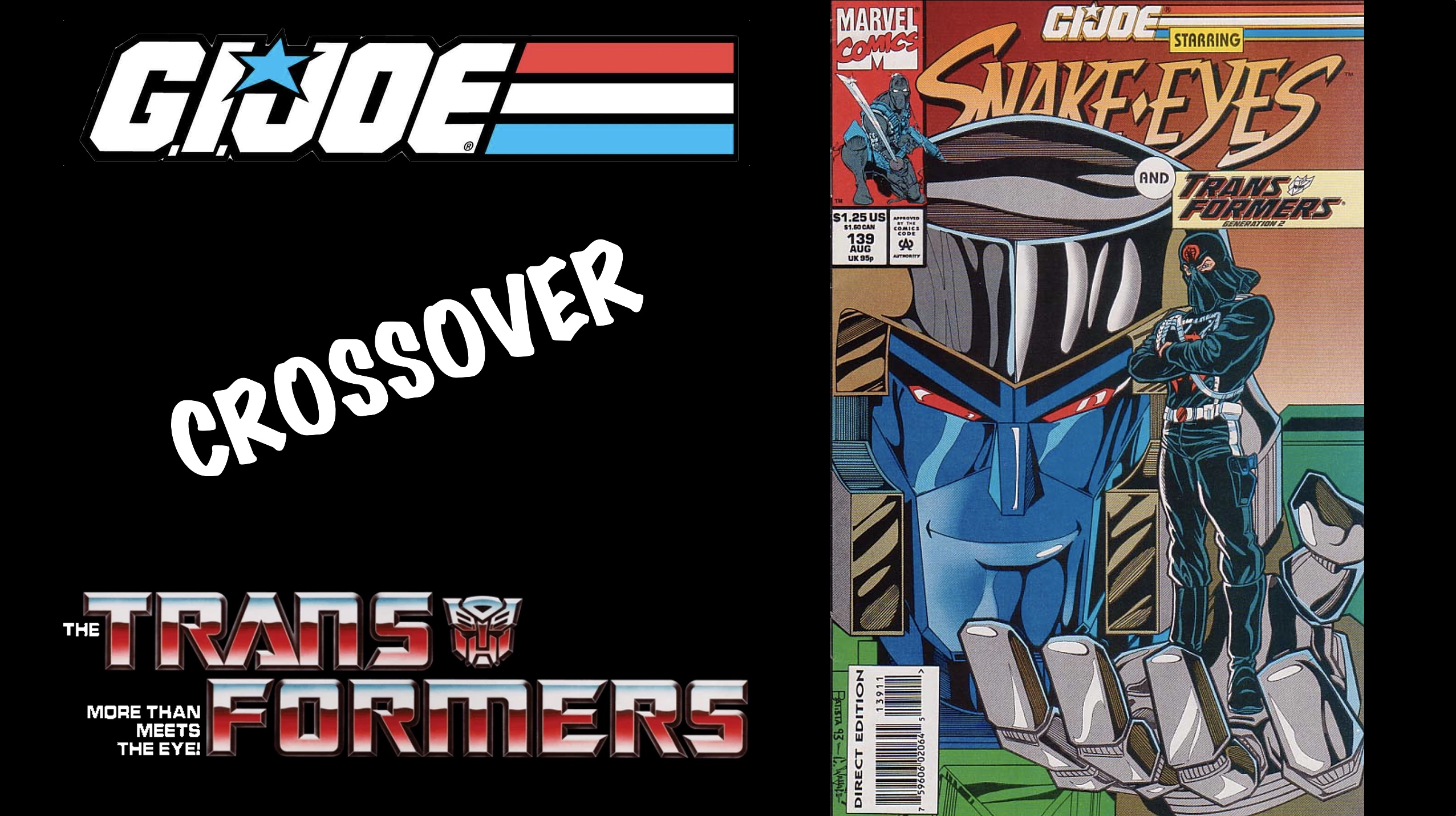 GI Joe And Transformers Generation 2 Comic Book Crossover