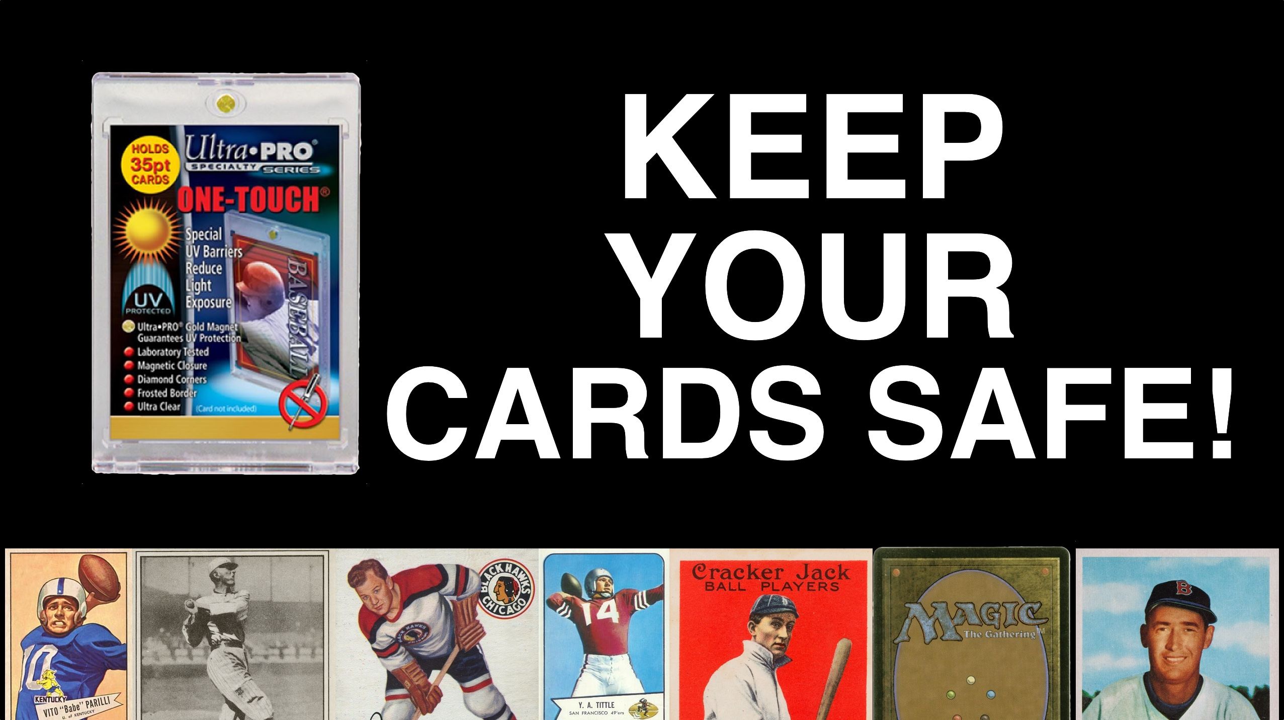 Keep Your Football Cards Safe For Your Grandchildren