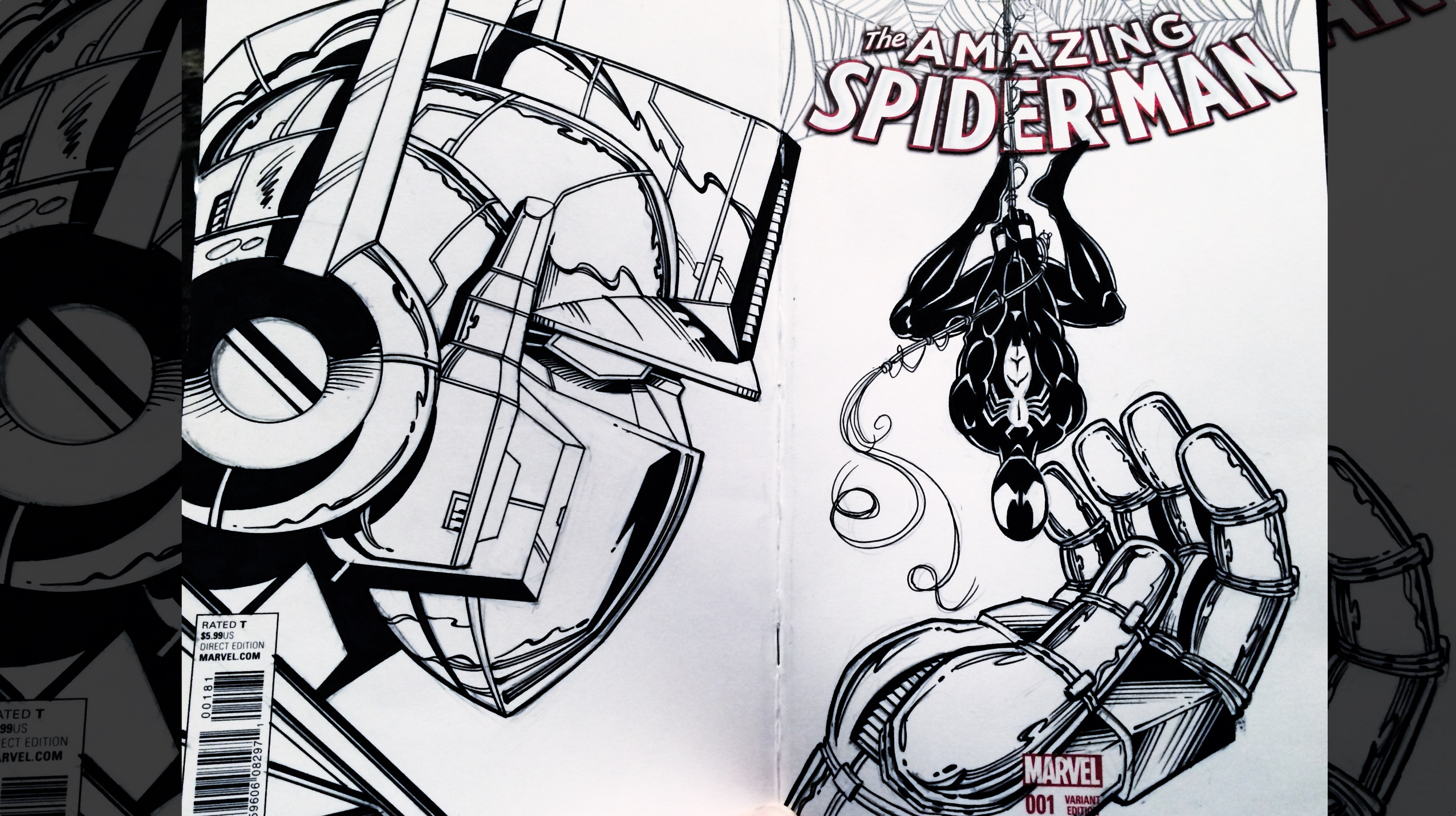 Sketch Covers With Randy Emberlin | Emerald City Comic Con 2018